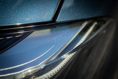 2019-Cadillac-XT4-Sport-Exterior-Day-032-Cadillac-script-in-headlight-housing-CS-Garage