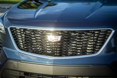 2019-Cadillac-XT4-Sport-Exterior-Day-038-grille-with-Cadillac-logo-CS-Garage