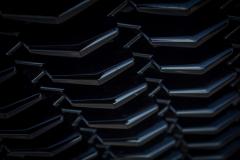 2019-Cadillac-XT4-Sport-Exterior-Day-044-grille-detail-V-shape-CS-Garage