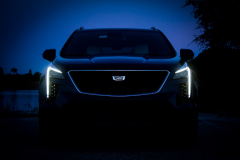 2019-Cadillac-XT4-Sport-Exterior-Dusk-007.jpg-front-end-with-accessory-lights-CS-Garage