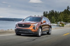 2019 Cadillac XT4 Sport - Exterior - Seattle Media Drive - September 2018 003
