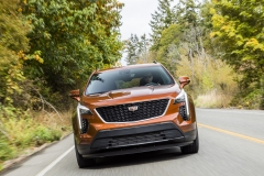2019 Cadillac XT4 Sport - Exterior - Seattle Media Drive - September 2018 007
