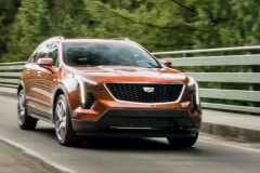 2019 Cadillac XT4 Sport - Exterior - Seattle Media Drive - September 2018 010
