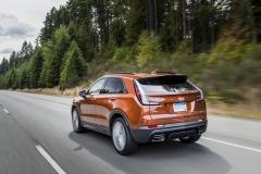 2019 Cadillac XT4 Sport - Exterior - Seattle Media Drive - September 2018 011