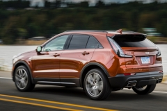 2019 Cadillac XT4 Sport - Exterior - Seattle Media Drive - September 2018 016