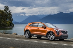 2019 Cadillac XT4 Sport - Exterior - Seattle Media Drive - September 2018 028