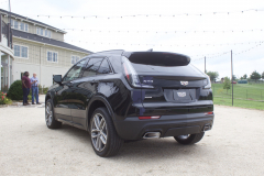 2019-Cadillac-XT4-Sport-Exterior-in-Stellar-Black-Metallic-at-Cadillac-Event-006-rear-three-quarters