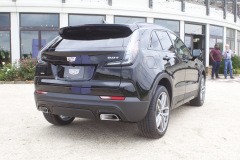 2019-Cadillac-XT4-Sport-Exterior-in-Stellar-Black-Metallic-at-Cadillac-Event-008-rear-three-quarters