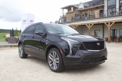 2019-Cadillac-XT4-Sport-Exterior-in-Stellar-Black-Metallic-at-Cadillac-Event-011-front-three-quarters