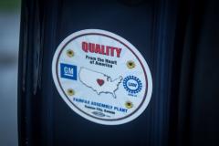 2019-Cadillac-XT4-Sport-Interior-Door-Panel-010-UAW-Fairfax-Assembly-Plant-Sticker-CS-Garage