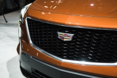2019 Cadillac XT4 Sport exterior - 2018 New York Auto Show live 009 - grille and Cadillac logo