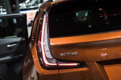 2019 Cadillac XT4 Sport exterior - 2018 New York Auto Show live 012 - taillight and XT4 badge