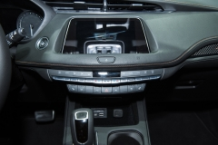 2019 Cadillac XT4 Sport interior - 2018 New York Auto Show live 007 - center stack
