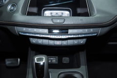 2019 Cadillac XT4 Sport interior - 2018 New York Auto Show live 008 - center controls