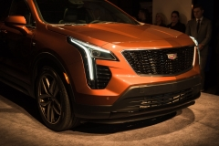 2019 Cadillac XT4 exterior live reveal 003 front end