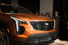 2019 Cadillac XT4 exterior live reveal 004 front end