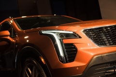 2019 Cadillac XT4 exterior live reveal 006 headlight