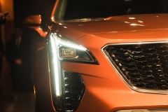 2019 Cadillac XT4 exterior live reveal 007 headlight