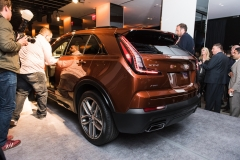 2019 Cadillac XT4 exterior live reveal 011 rear three quarters