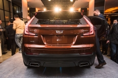 2019 Cadillac XT4 exterior live reveal 012 rear end