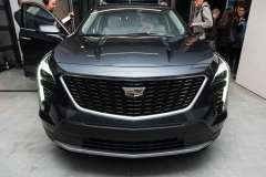 2019 Cadillac XT4 exterior live reveal 014 front end