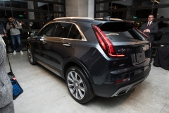 2019 Cadillac XT4 exterior live reveal 016 rear three quarters