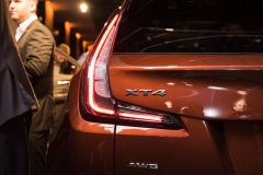 2019 Cadillac XT4 exterior live reveal 017 XT4 badge