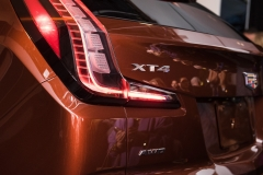 2019 Cadillac XT4 exterior live reveal 018 XT4 badge