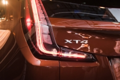 2019 Cadillac XT4 exterior live reveal 020 XT4 badge