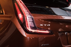 2019 Cadillac XT4 exterior live reveal 021 XT4 badge
