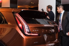 2019 Cadillac XT4 exterior live reveal 022 XT4 badge