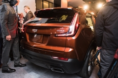 2019 Cadillac XT4 exterior live reveal 027 rear end