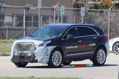 2019 Cadillac XT5 Spy Pictures - April 2018 - exterior 001