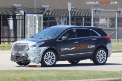 2019 Cadillac XT5 Spy Pictures - April 2018 - exterior 004