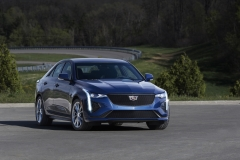 2020 Cadillac CT4-V Exterior 001 front three quarters