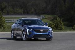 2020 Cadillac CT4-V Exterior 001 front three quarters