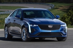 2020 Cadillac CT4-V Exterior 002 front three quarters