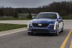 2020 Cadillac CT4-V Exterior 005 front end