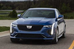 2020 Cadillac CT4-V Exterior 006 front end