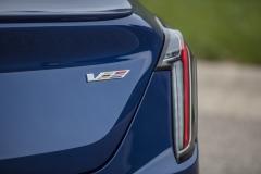 2020 Cadillac CT4-V Exterior 007 V badge logo