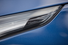 2020 Cadillac CT4-V Exterior 009 Cadillac script on headlight