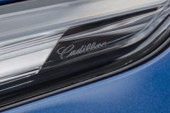 2020 Cadillac CT4-V Exterior 010 Cadillac script on headlight