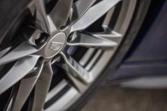 2020 Cadillac CT4-V Exterior 014 Cadillac logo on wheel center cap