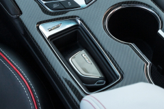 2022-Cadillac-CT4-V-Blackwing-Interior-Level-2-007-center-console-carbon-fiber-trim-key-fob