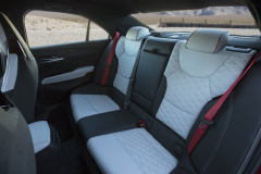 2022-Cadillac-CT4-V-Blackwing-Interior-Level-2-012-rear-seat-red-seat-belts