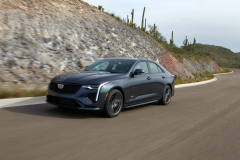 2022-Cadillac-CT4-V-First-Drive-Exterior-003-front-three-quarters