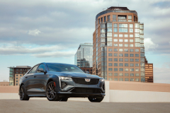 2022-Cadillac-CT4-V-First-Drive-Exterior-010-front-three-quarters-low-angle