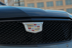 2022-Cadillac-CT4-V-First-Drive-Exterior-021-grille-Cadillac-logo