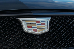 2022-Cadillac-CT4-V-First-Drive-Exterior-022-grille-Cadillac-logo