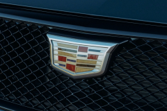 2022-Cadillac-CT4-V-First-Drive-Exterior-026-grille-Cadillac-logo